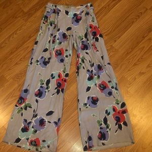 Anthropologie wide leg Elevenses Pants 0 2